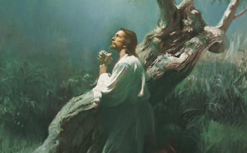 جب اس نے ساری دنیاکے گناہ ، دکھ درد ، اور کمزوریاں اپنے پر اٹھا لیں۔