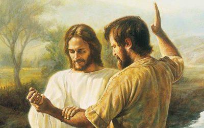 یسوع مسیح کی انجیل حصہ سوم، بپتسمہ۔؟
