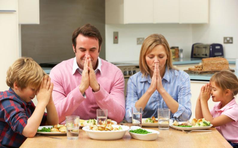 کھانے سے پہلے کی دعا