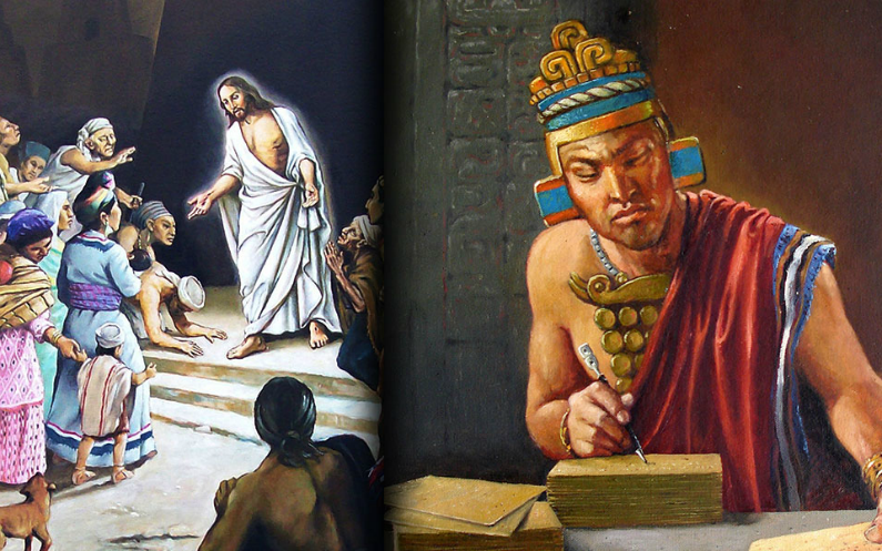 یسوع ہیکل میں خطاب کرتےہوئے