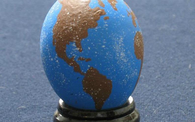 دنیا بگر میں ایسٹر کے انڈے