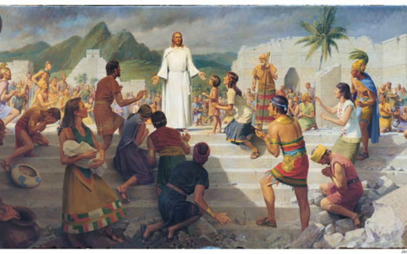 یسوع میسح کا امریکہ میں وزٹ