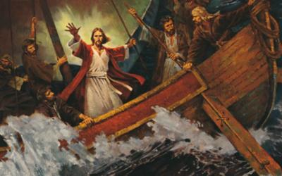 اگر یسوع مسیح آپ کے طوفان یا مشکلات کے دوران سو رہے ہیں تو۔