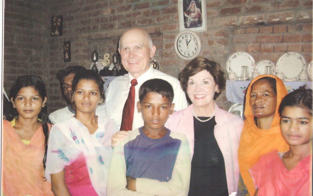 ایک مضبوط مشنری کی کہانی جس کو ہیکل میں جانے کی تیاری  میں 17 سال لگے۔