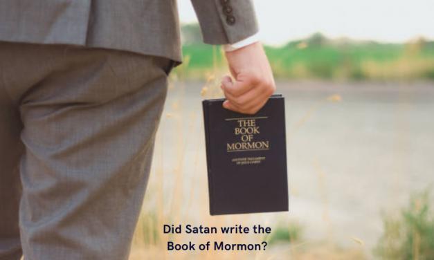 کیا مورمن کی کتاب ابلیس نے لکھی ہے؟ اگر نہیں تو یہ کس کی گواہی دیتی ہے۔